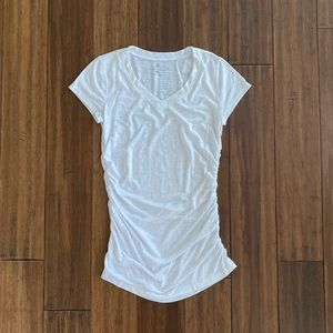 New York & Co White T Shirt size Small
